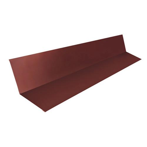 Ендова внутренняя 30*30*2,0м RAL 8017 коричневая