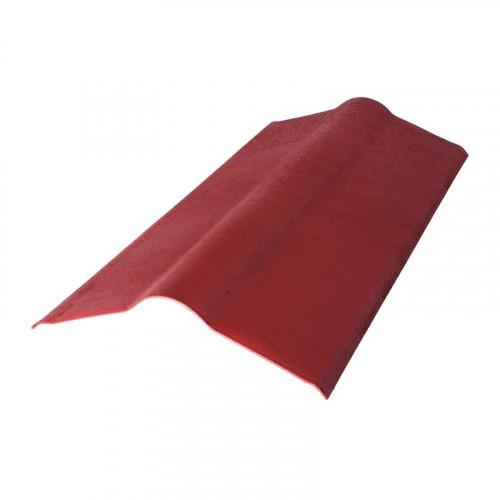 Конек для ондулина красный 0,36х0,9