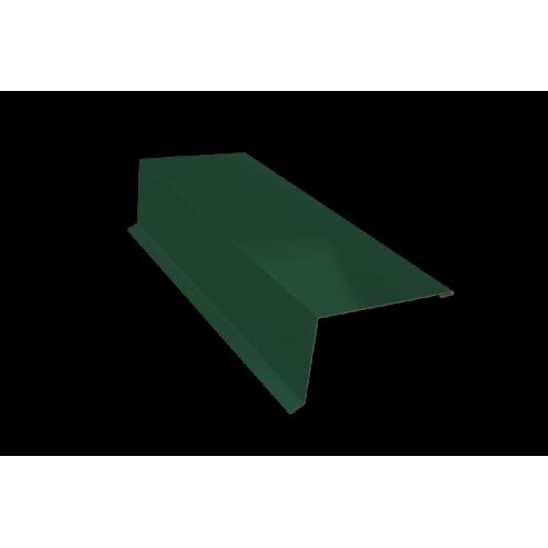 Карнизная планка  70*90*2,0м RAL-зеленая