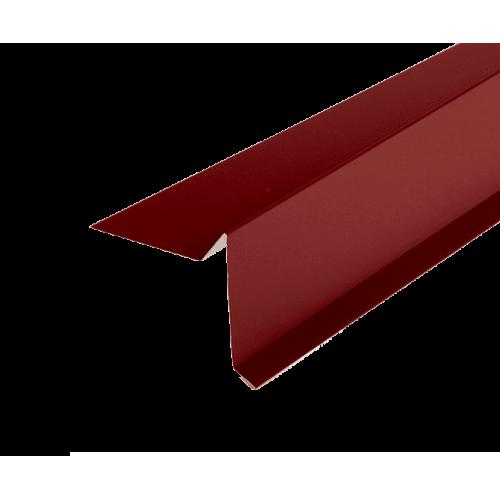 Карнизная планка   70*90* 2,0м RAL 3011 красная