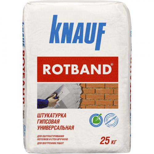Ротбанд (30 кг) Гипсовая штукатурка Кнауф