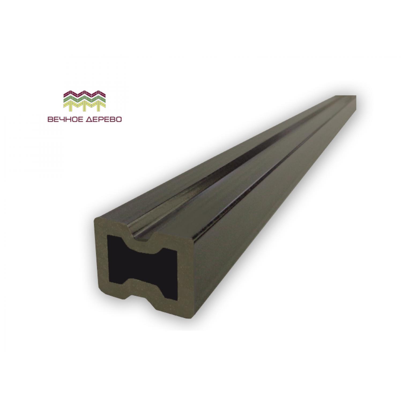 Лага для планкена из ДПК 30*40*2900 мм. (антрацит)