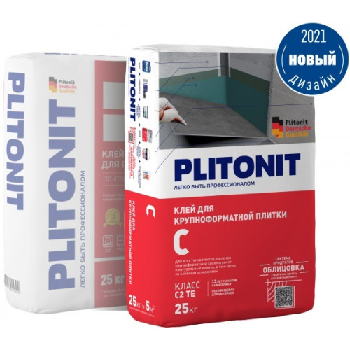 Плитонит С (клей на вл. основания) 25 кг