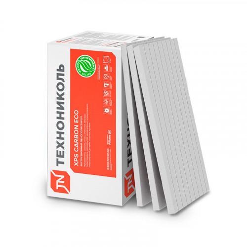Пенополистерол экстр.XPS ТехноНИКОЛЬ CARBON ECO (1180*580*100мм) уп. 4 шт 2,74 м/кв. уп.0,274м3уп.