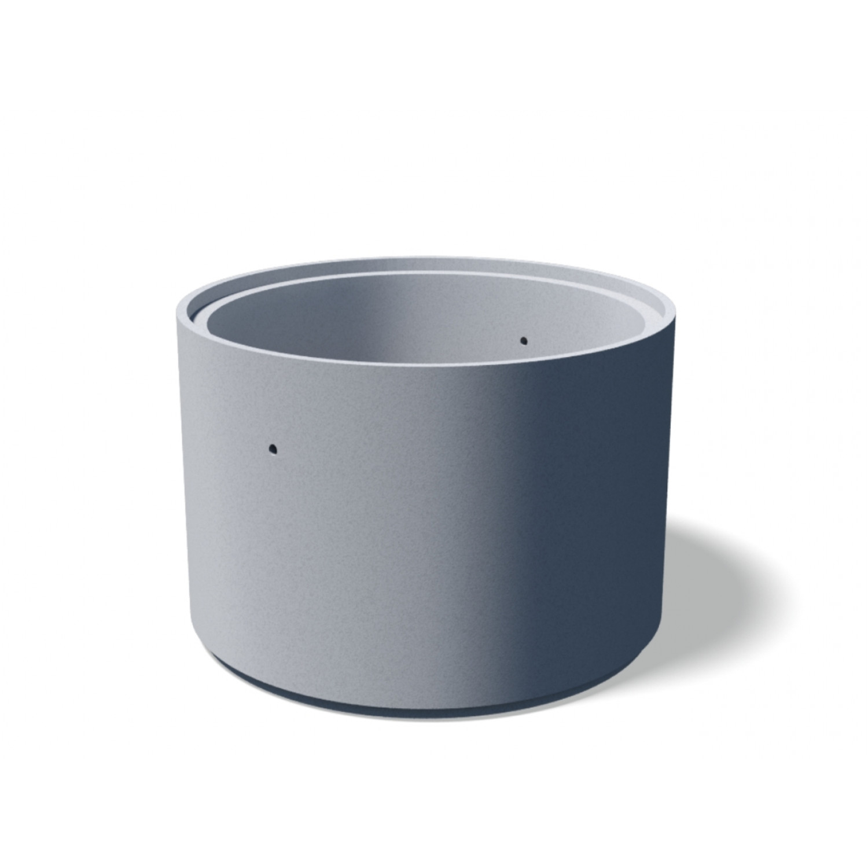 ЖБ Кольцо с дном паз/гребень  ДК-10-9 д. 1000 м