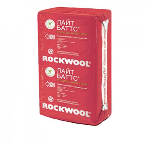 Rockwool Лайт Баттс 600*1000*50мм (6м2=0,3м3) 10шт