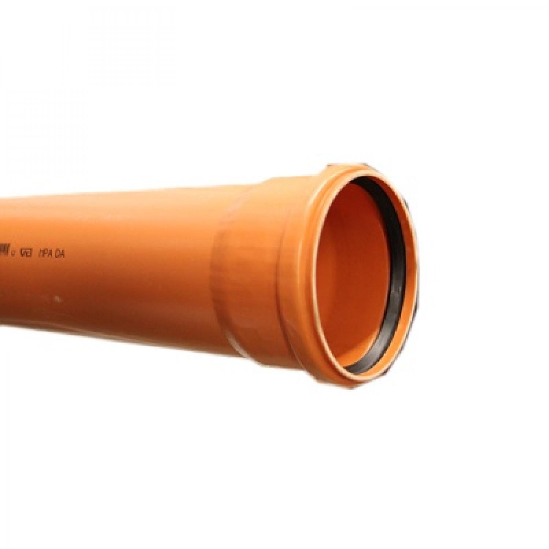 Труба наружная канализационная однорастр. 110*1000