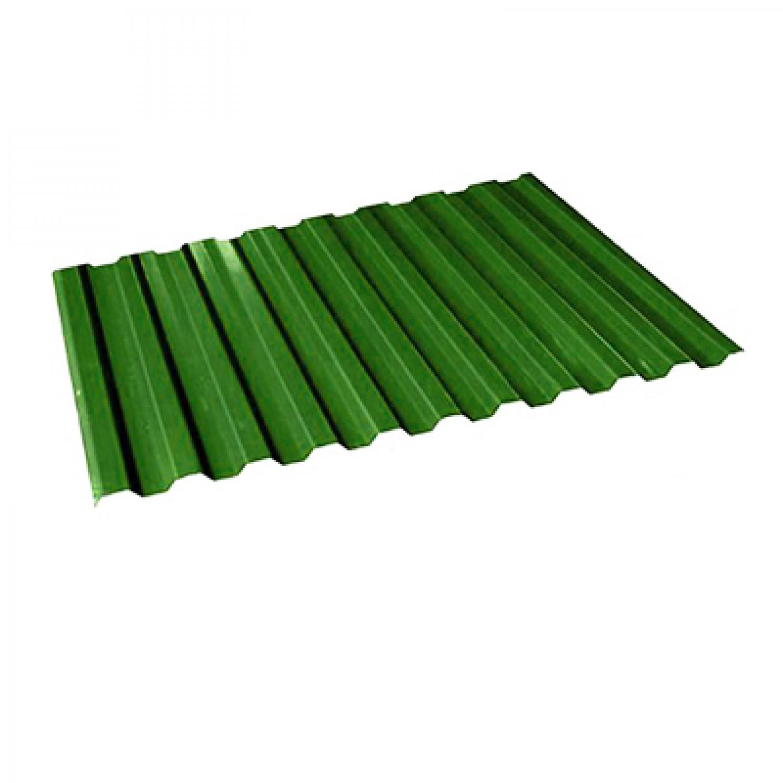 Профнастил С-8 зеленый RAL6005 1200х2000х0,4мм