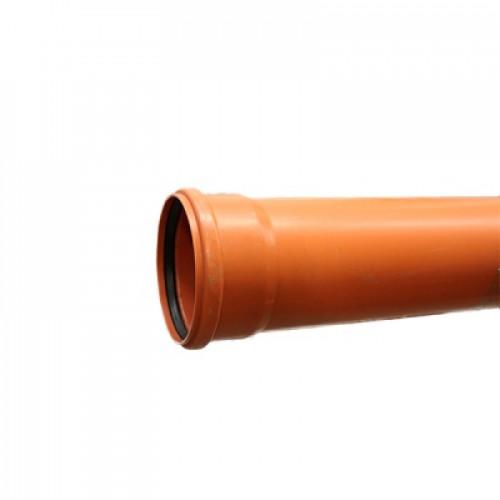 Труба наружная канализационная  однорастр. 160*2000