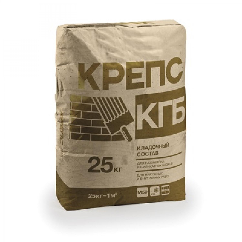 """Крепс """"КГБ"""" клей для газобетона   25 кг"""