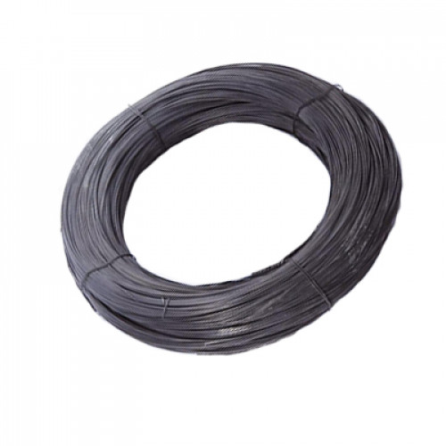 Проволока черная ТО 2,0мм    1 бухта - 10 кг