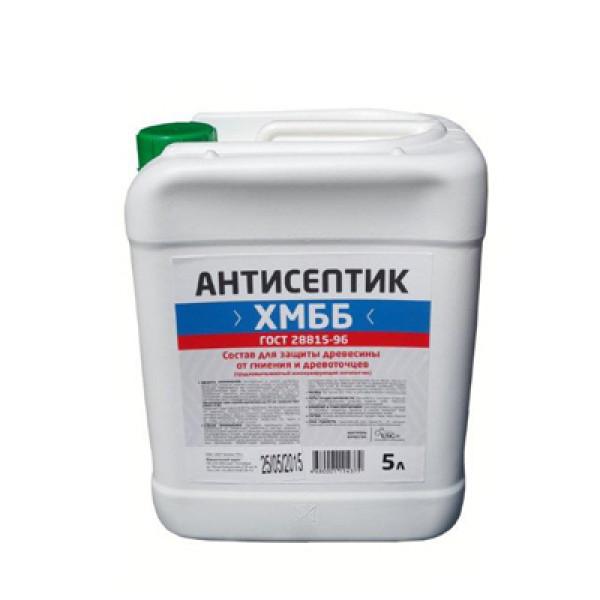 Антисептик ХМББ ( биозащита древесины) 5 л.